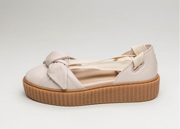 Мужские кроссовки Puma x Fenty Bow Creeper Sandal (Pink Tint / Pink Tint / Oatmeal) | Интернет-магазин Sole