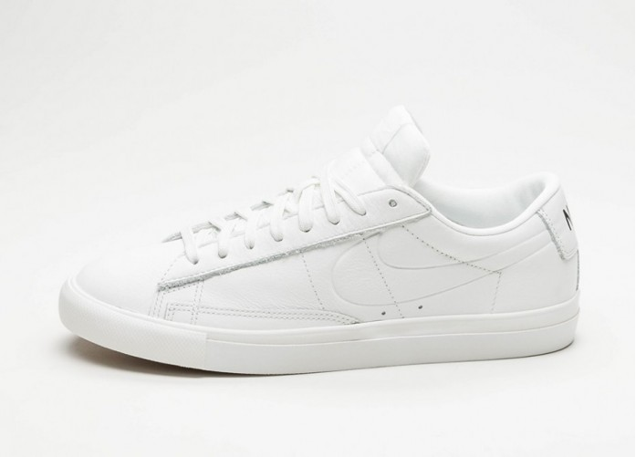 Мужские кроссовки Nike Blazer Low (Summit White / Summit White) | Интернет-магазин Sole