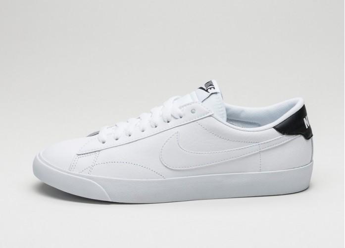 Мужские кроссовки Nike Tennis Classic AC (White / White - Black) | Интернет-магазин Sole