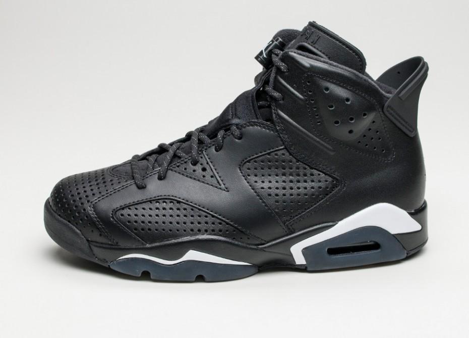 7e5b424ac604 Мужские кроссовки Nike Air Jordan 6 Retro  Black Cat  (Black   Black ...