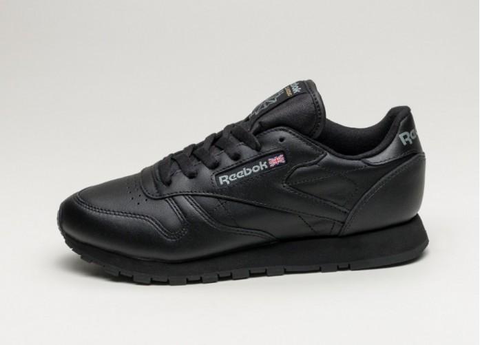 0c72bca4 Мужские кроссовки Reebok Classic Leather (Black) | Интернет-магазин Sole