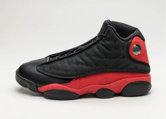 Мужские кроссовки Nike Air Jordan 13 Retro *Bred* (Black / True Red - White) | Интернет-магазин Sole