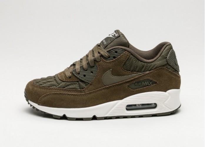 Мужские кроссовки Nike Wmns Air Max 90 PRM (Dark Loden / Dark Loden - Ivory) | Интернет-магазин Sole