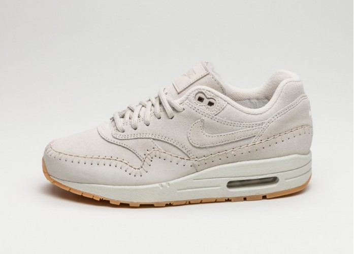 Женские кроссовки Nike Wmns Air Max 1 PRM *Sherpa Pack* (Birch / Birch - Ivory - Gum Light Brown) | Интернет-магазин Sole