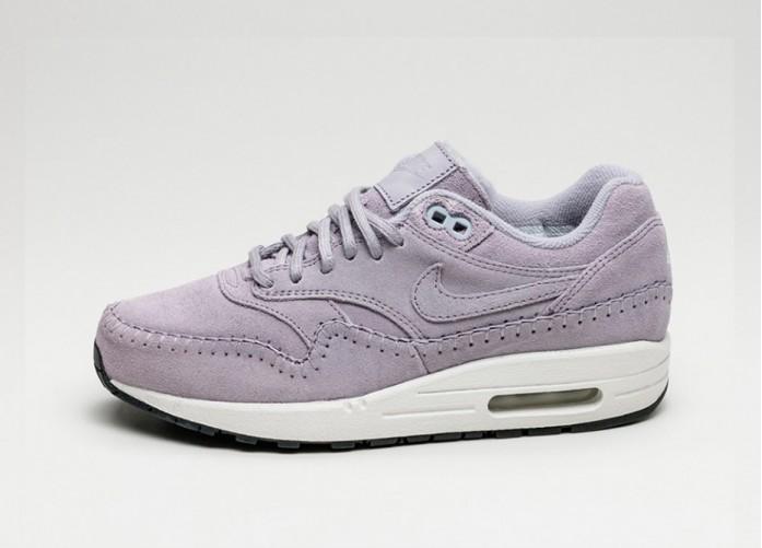 Женские кроссовки Nike Wmns Air Max 1 PRM *Sherpa Pack* (Provence Purple / Provence Purple) | Интернет-магазин Sole