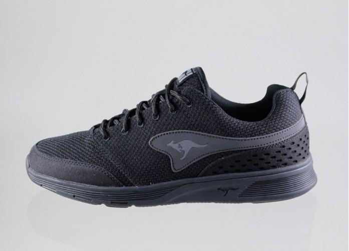 Мужские кроссовки Kangaroos Current (Black) | Интернет-магазин Sole