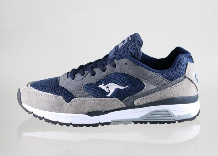 Мужские кроссовки Kangaroos Ultimate 3 (Mid Grey / Dark Navy) | Интернет-магазин Sole