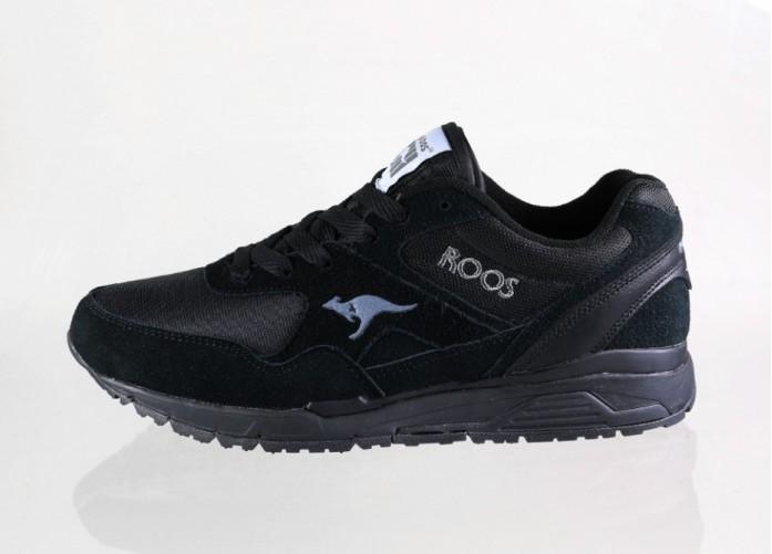 Мужские кроссовки Kangaroos Runaway ROOS 002 (Black) | Интернет-магазин Sole