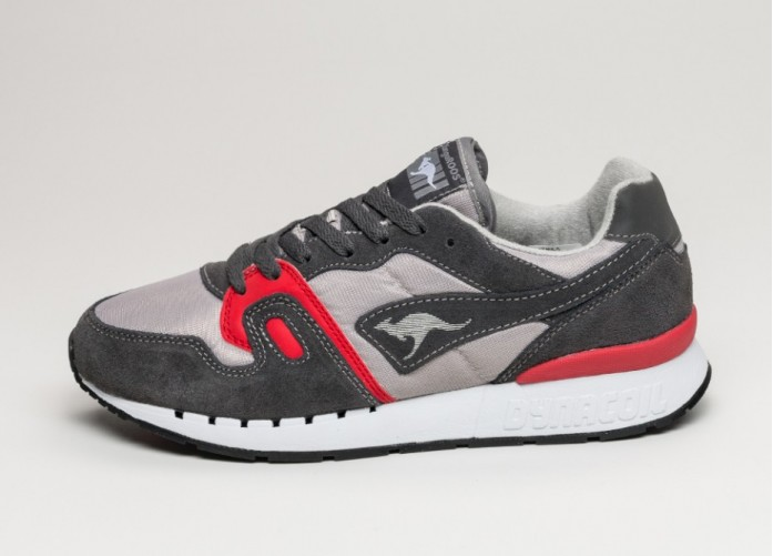 Мужские кроссовки Kangaroos Omnicoil II (Dark Grey / Flame Red) | Интернет-магазин Sole