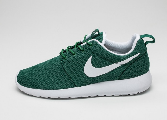 Мужские кроссовки Nike Roshe One (Gorge Green / White) | Интернет-магазин Sole