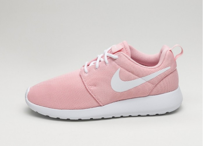 Женские кроссовки Nike Wmns Roshe One (Sheen / White - White) | Интернет-магазин Sole