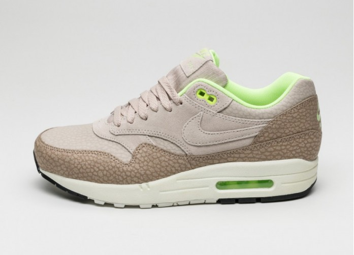 Мужские кроссовки Nike Air Max 1 PRM (String / Spring - Desert Camo - Ghost Green) | Интернет-магазин Sole