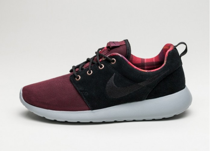Мужские кроссовки Nike Roshe One PRM (Night Maroon / Black - Wolf Grey) | Интернет-магазин Sole