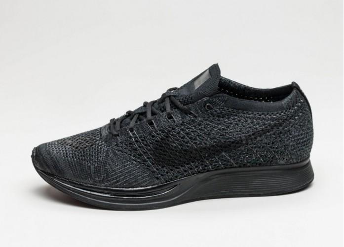 Мужские кроссовки Nike Flyknit Racer (Black / Black - Anthracite) | Интернет-магазин Sole