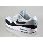 Мужские кроссовки Nike Air Max 1 Essential (WHITE / BLACK - WOLF GREY - PHOTO BLUE), фото 3 | Интернет-магазин Sole