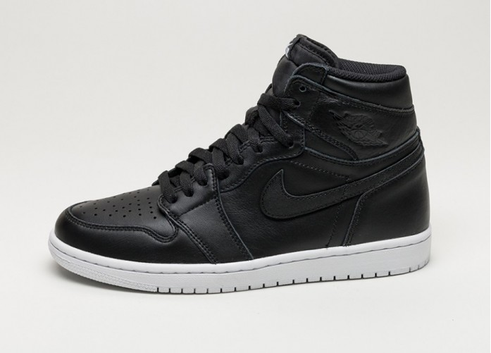 Мужские кроссовки Nike Air Jordan 1 Retro High OG *Cyber Monday* (Black / Black - White) | Интернет-магазин Sole