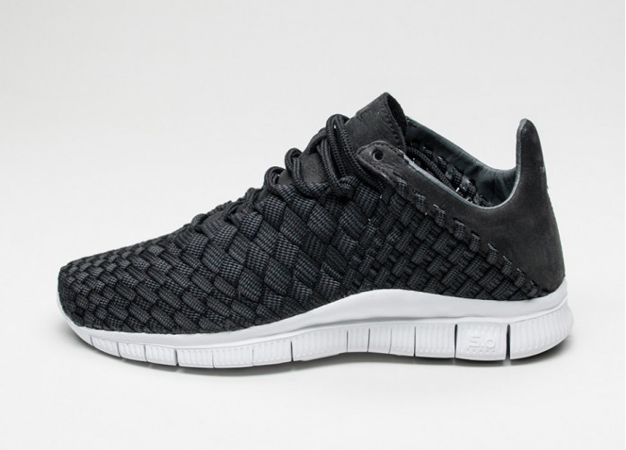 Мужские кроссовки Nike Free Inneva Woven (Black / Anthracite - Summit White) | Интернет-магазин Sole