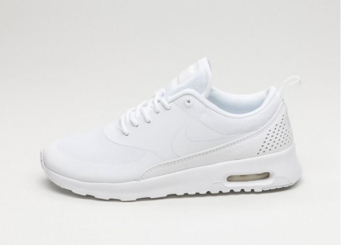 Женские кроссовки Nike Wmns Air Max Thea (White / White - White) | Интернет-магазин Sole