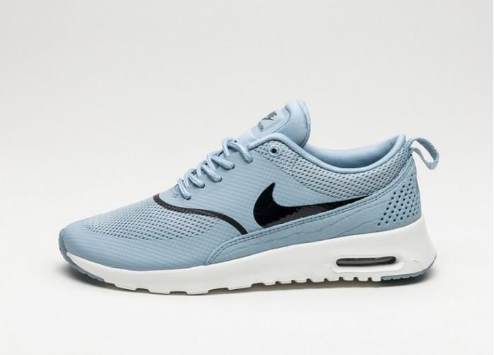 Мужские кроссовки Nike Wmns Air Max Thea (Blue Grey / Black - Summit White) | Интернет-магазин Sole