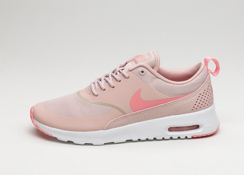 Женские кроссовки Nike Wmns Air Max Thea (Pink Oxford   Bright Melon - White ) 3b49e505e