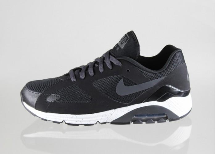 Мужские кроссовки Nike Air Max Terra 180 (BLACK / DARK CHARCOAL - METALLIC SILVER - BLACK) | Интернет-магазин Sole