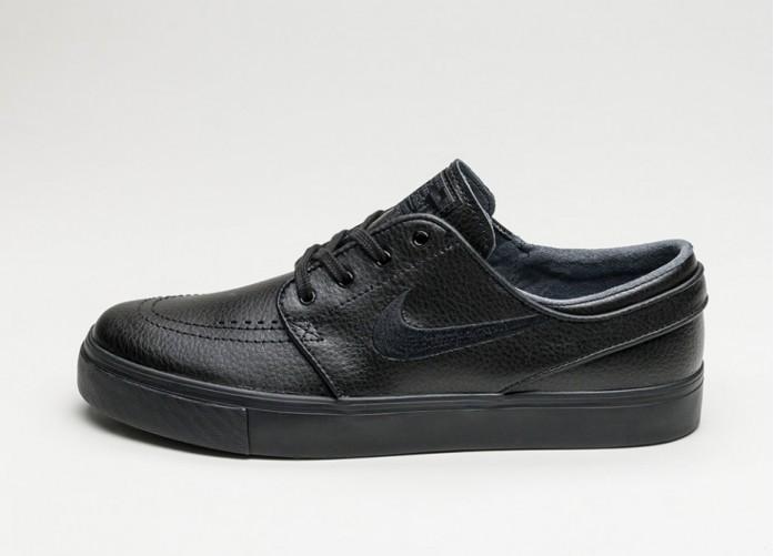Мужские кроссовки Nike SB Zoom Stefan Janoski L (Black / Black - Black - Anthracite) | Интернет-магазин Sole