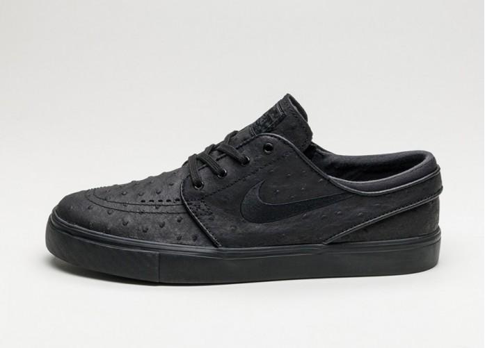 Мужские кроссовки Nike SB Zoom Stefan Janoski L (Black / Black - Anthracite) | Интернет-магазин Sole