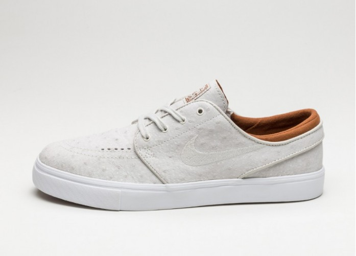 Мужские кроссовки Nike SB Zoom Stefan Janoski L (Ivory / Light Bone - Hazelnut) | Интернет-магазин Sole