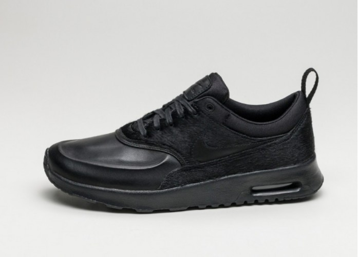 Женские кроссовки Nike Wmns Air Max Thea PRM *Black Pony Hair Pack* (Black / Black - Black) | Интернет-магазин Sole
