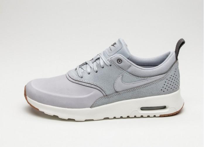 Женские кроссовки Nike Wmns Air Max Thea PRM (Wolf Grey / Wolf Grey - Sail - Midnight Fog) | Интернет-магазин Sole