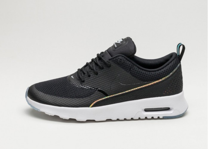 Мужские кроссовки Nike Wmns Air Max Thea PRM (Black / Black - Blue Tint) | Интернет-магазин Sole