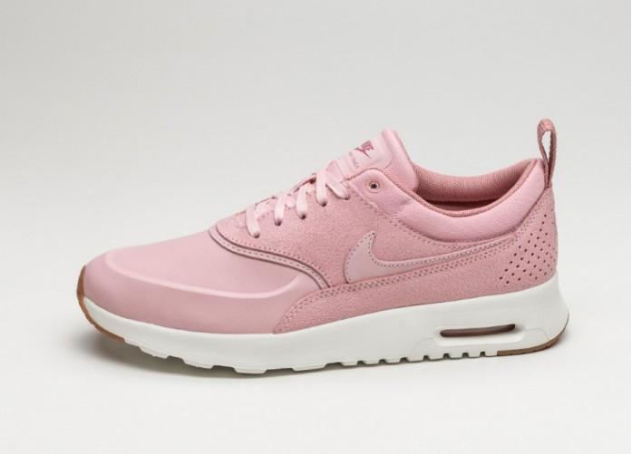 Женские кроссовки Nike Wmns Air Max Thea PRM (Pink Glaze / Pink Glaze - Sail - Reb Stardust) | Интернет-магазин Sole
