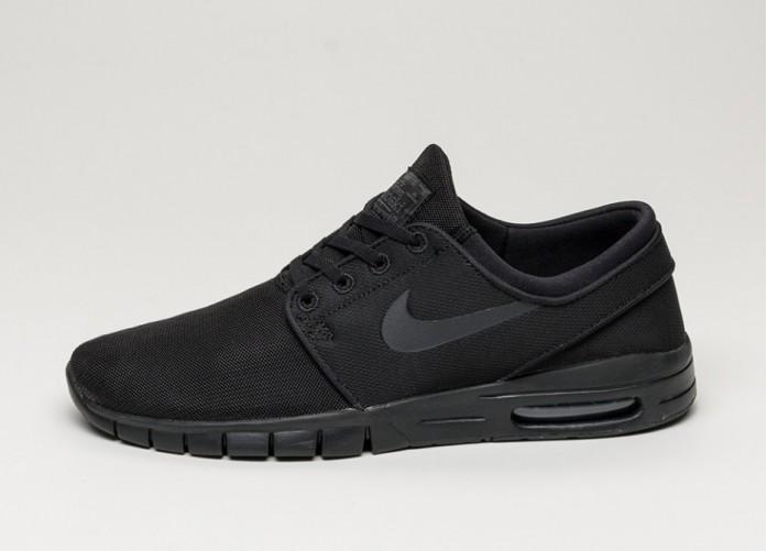 Мужские кроссовки Nike SB Stefan Janoski Max (Black / Black - Anthracite - Black) | Интернет-магазин Sole