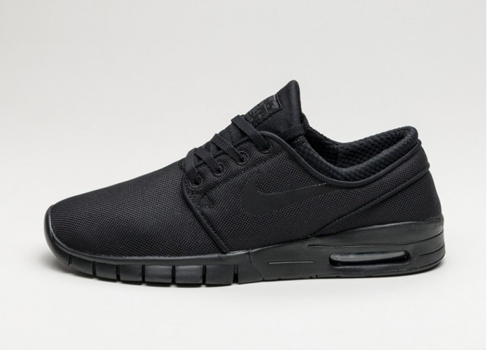 Мужские кроссовки Nike SB Stefan Janoski Max (Black / Black - Anthracite) | Интернет-магазин Sole