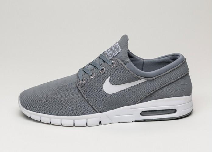 Мужские кроссовки Nike SB Stefan Janoski Max (Cool Grey / White - White - Graphite) | Интернет-магазин Sole