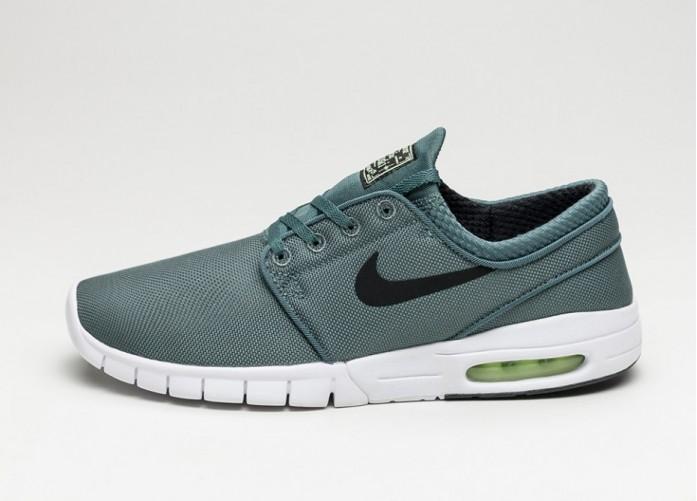 Мужские кроссовки Nike SB Stefan Janoski Max (Hasta / Black - Barely Volt - White) | Интернет-магазин Sole