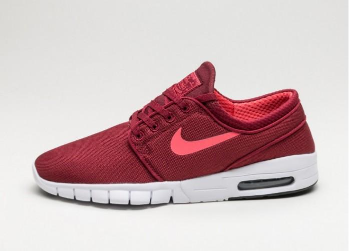 Мужские кроссовки Nike SB Stefan Janoski Max (Team Red / Ember Glow - Black - White) | Интернет-магазин Sole
