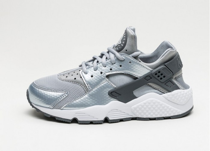 Мужские кроссовки Nike Wmns Air Huarache Run (Wolf Grey / Dark Grey - White) | Интернет-магазин Sole