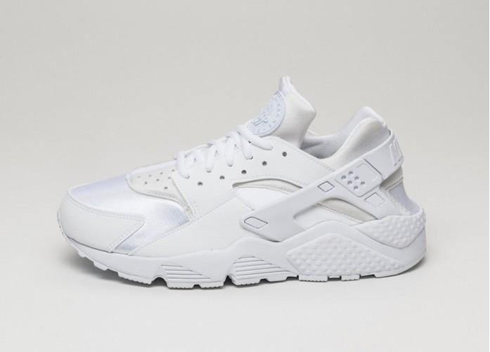 Мужские кроссовки Nike Wmns Air Huarache Run (White / White) | Интернет-магазин Sole