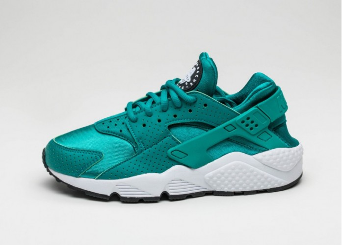 Мужские кроссовки Nike Wmns Air Huarache Run (Rio Teal / Rio Teal - Black) | Интернет-магазин Sole