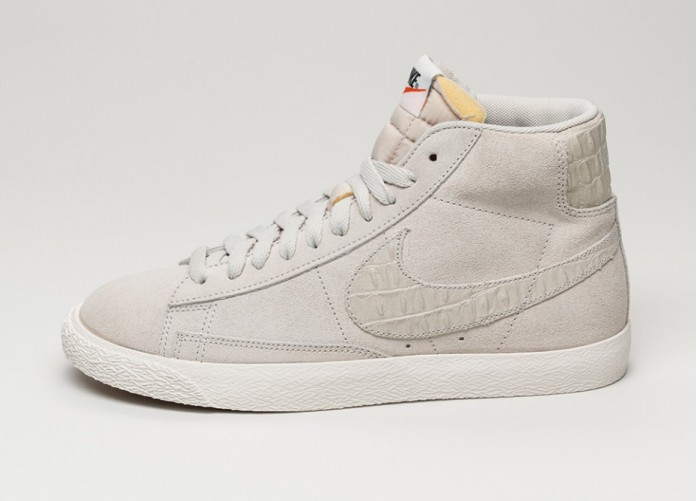 Мужские кроссовки Nike Blazer Mid Premium Vintage (Light Bone / Light Bone - Sail) | Интернет-магазин Sole