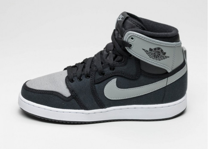 Мужские кроссовки Nike Air Jordan 1 KO High OG *Shadow* (Black / Shadow Grey - White) | Интернет-магазин Sole