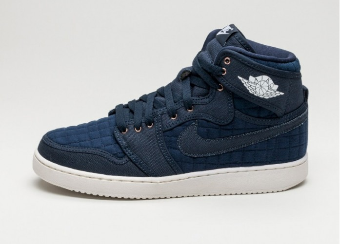 Мужские кроссовки Nike Air Jordan 1 KO High OG (Obsidian / White - Metallic Red Bronze - Sail) | Интернет-магазин Sole