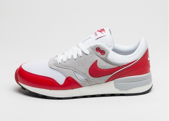 Мужские кроссовки Nike Air Odyssey (White / University Red - Neutral Grey - Sail) | Интернет-магазин Sole