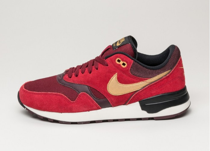 Мужские кроссовки Nike Air Odyssey (Gym Red / Metallic Gold - Team Red) | Интернет-магазин Sole