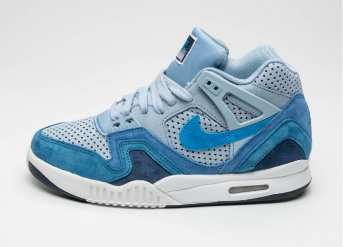 Мужские кроссовки Nike Air Tech Challenge II QS (Blue Grey / Photo Blue - Obsidian - Summit White) | Интернет-магазин Sole