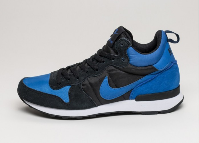Мужские кроссовки Nike Internationalist Mid (Varsity Royal / Varsity Royal - Black - White) | Интернет-магазин Sole