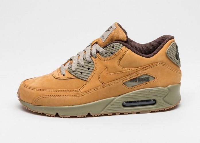 Мужские кроссовки Nike Air Max 90 Winter PRM (Bronze / Bronze - Baroque Brown - Bamboo) | Интернет-магазин Sole