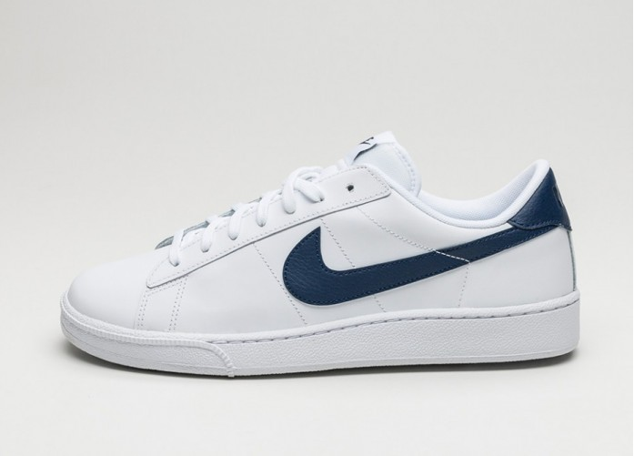 Мужские кроссовки Nike Tennis Classic CS (White / Midnight Navy) | Интернет-магазин Sole