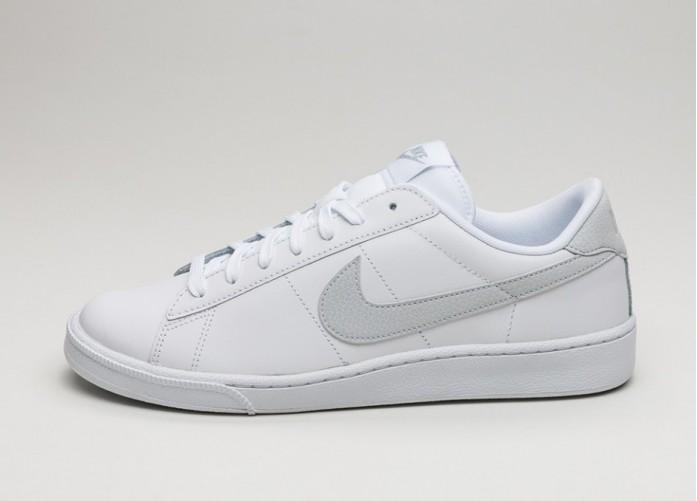Мужские кроссовки Nike Tennis Classic CS (White / Pure Platinum) | Интернет-магазин Sole